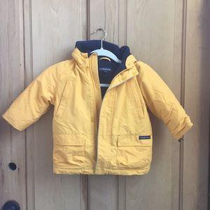 Lands End puffer coat